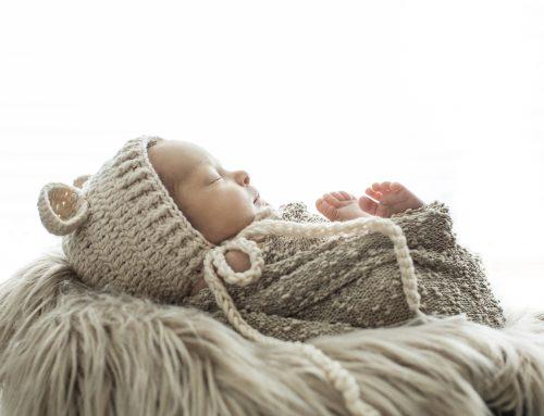 Η πρώτη φωτογράφιση του μωρού είναι μοναδική.